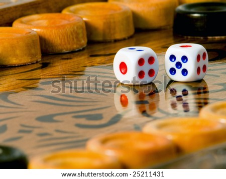 Backgammon the most fascinating board game #25211431