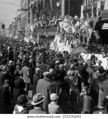 Mardi Gras in New Orleans, photo ca. 1920