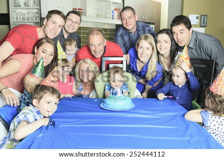 A Happy one Year Birthday to all the family