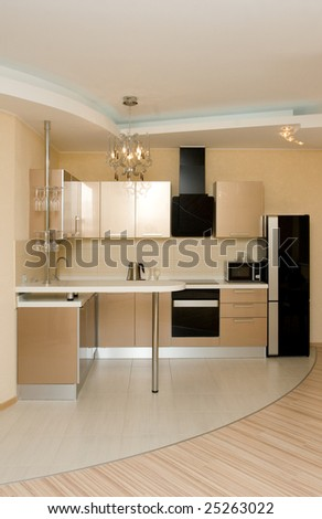 modern kitchen interior #25263022