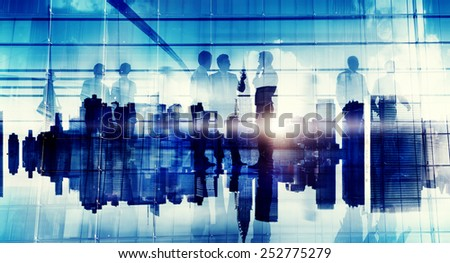 Business People Communication Corporate Office Discussion Planning Concept #252775279