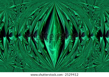 Kaleidoscopic interference pattern of a laser beam reflected by a polymer film #2529412