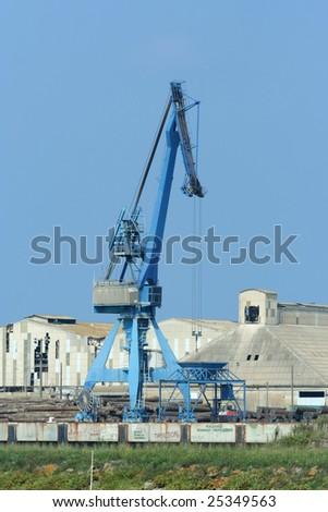 harbor crane #25349563