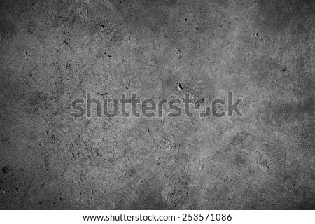 Grey textured concrete wall Royalty-Free Stock Photo #253571086