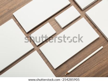 Blank branding elements