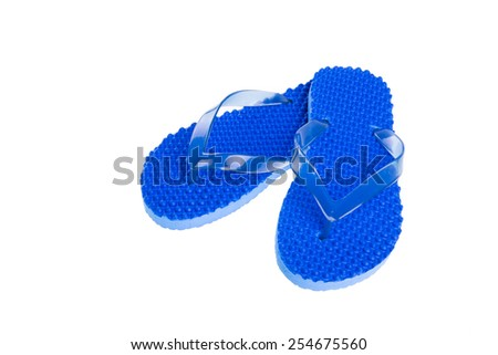 Flip Flops Isolated on White background #254675560