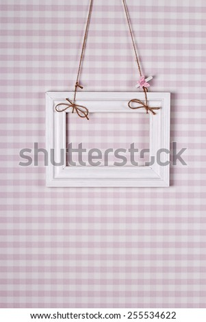 white frame on a pink background #255534622