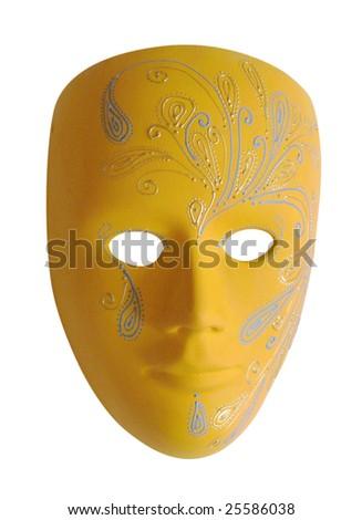 painted carnival mask   handmade #25586038