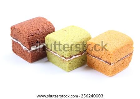 Cake isolate on white background #256240003