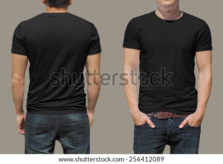 T-shirt template Royalty-Free Stock Photo #256412089
