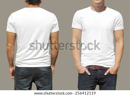 T-shirt template Royalty-Free Stock Photo #256412119