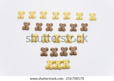 Dog biscuits. #256708570