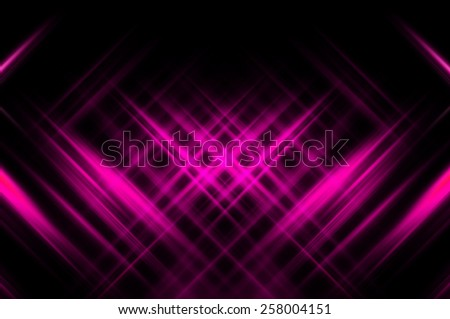 Abstract pink fractal background with various color lines and strips
