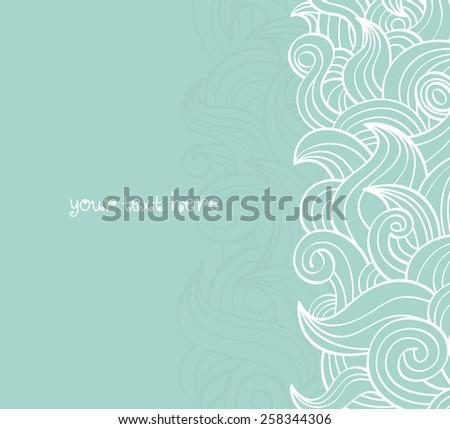 swirly doodle background