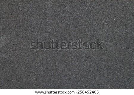 texture of black sponge for background #258452405