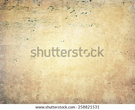 Brown grungy wall - textures for your design  #258821531
