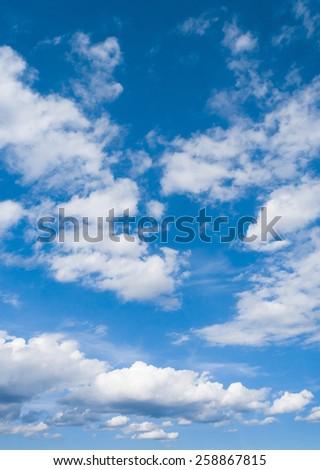 Summer Heavens Cloudy Outdoor  #258867815