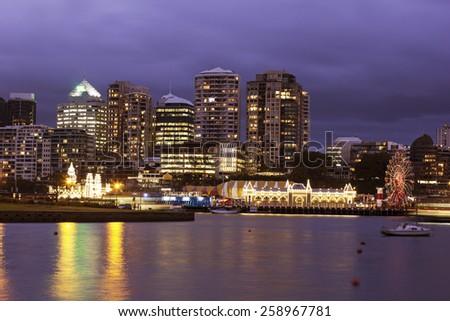 North Sydney architecture - North Sydney, NSW, Australia Royalty-Free Stock Photo #258967781