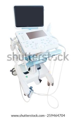 ultrasound machine  #259464704