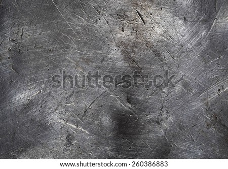 The vintage rusty grunge iron textured background Royalty-Free Stock Photo #260386883