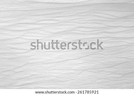 macro texture shadows on the snow #261785921