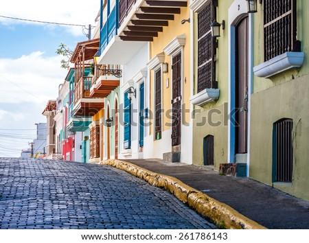 Old San Juan, Puerto Rico, United States. Royalty-Free Stock Photo #261786143