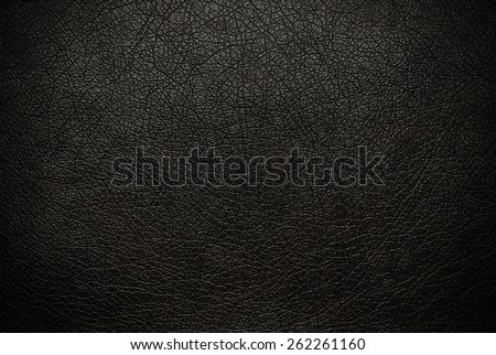 Black leather texture background surface Royalty-Free Stock Photo #262261160