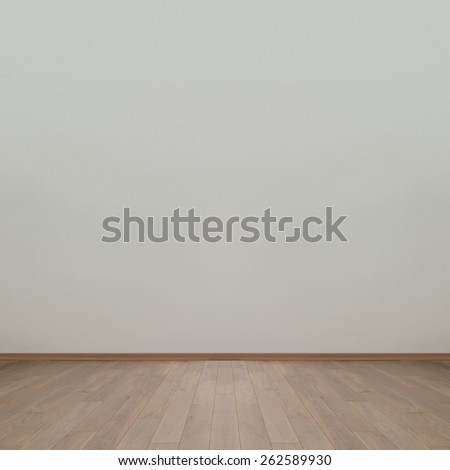 Empty wall with wooden floor background image #262589930