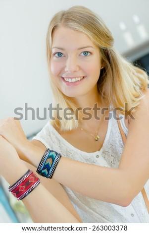 Shopping for a new bracelet #263003378