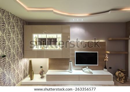Interior of a modern apartment #263356577