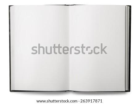Book, open, top. #263917871