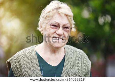 Senior Woman #264065819