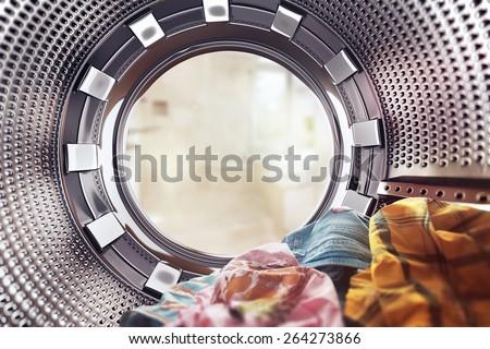 washing machine Royalty-Free Stock Photo #264273866