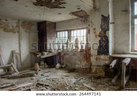 Old abandoned ruin  #264497141