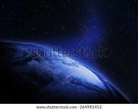 World from space. Elements of this image furnished by NASA #264981452