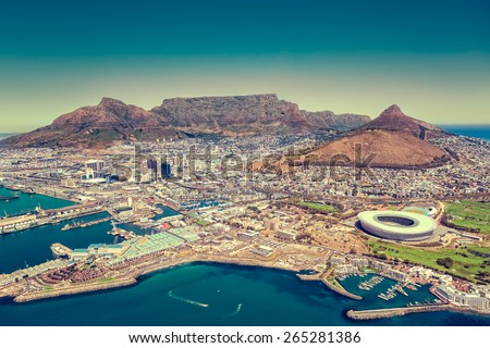 Cape Town, South Africa Royalty-Free Stock Photo #265281386