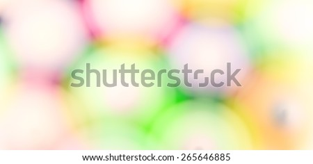 Abstract background  pattern of blurry colored light spots and circles #265646885