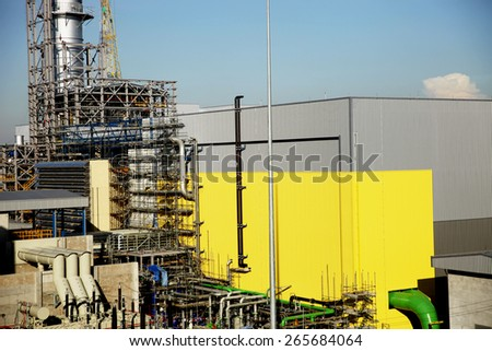 Construction of gas combine cycle power plant 800 MW #265684064