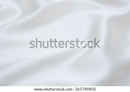 white satin fabric as background #265789850