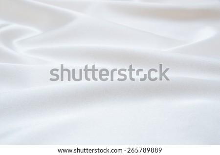 white satin fabric as background #265789889