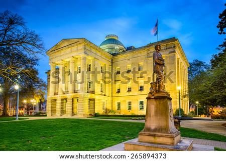 Raleigh, North Carolina, USA State Capitol Building. #265894373