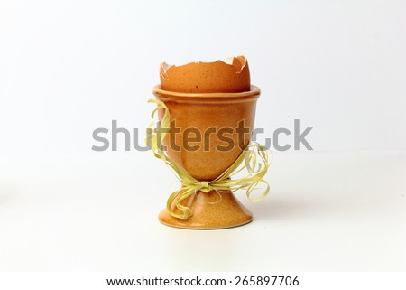 Easter egg in the cups #265897706