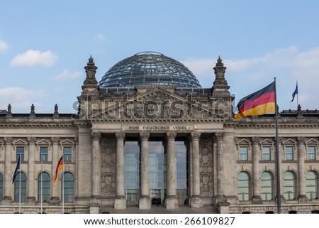 german bundestag in berlin #266109827