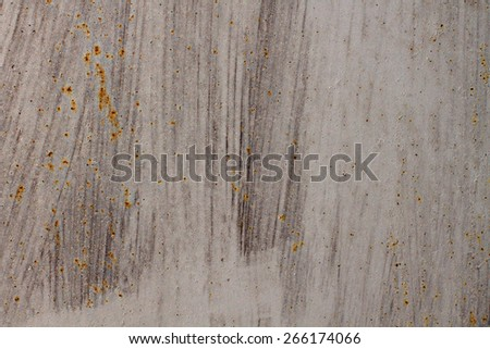 grunge metal background with space for text or image  #266174066