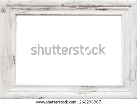 White picture frame texture