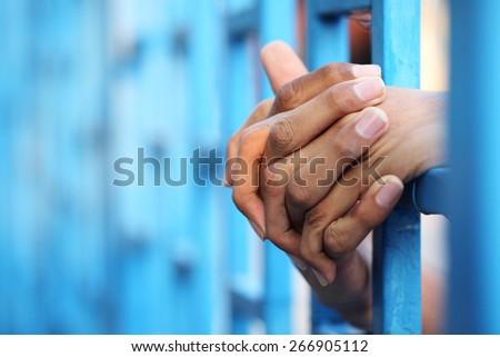 prisoner in jail #266905112