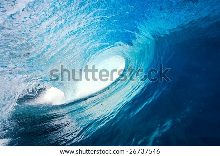 Perfect Blue Wave #26737546