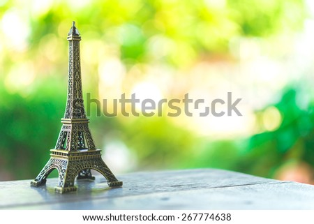 Eiffel toy - Vintage effect style pictures #267774638