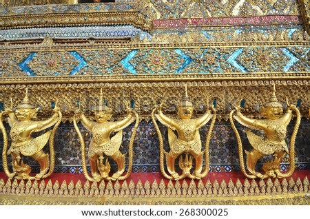 Garuda in Wat Phra Kaew Grand Palace of Thailand to find #268300025