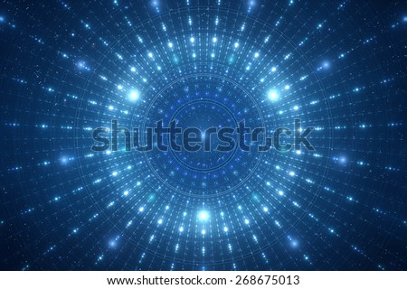 Abstract science fiction futuristic background